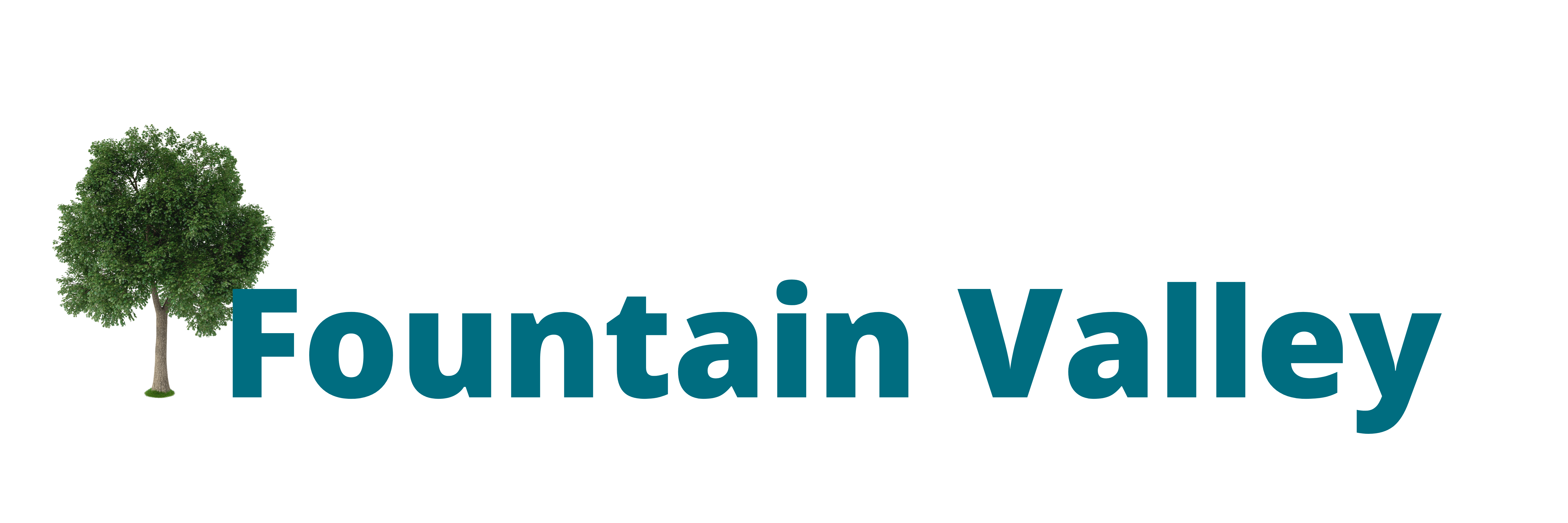 this image shows the logo of fountain valley tree care